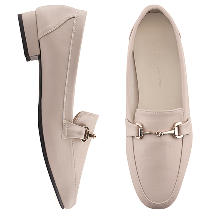 SPUR[스퍼]PS9016 Simple chain loafer 베이지