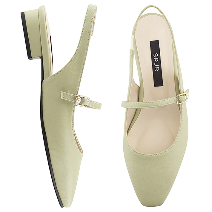 SPUR[스퍼]PS8010 Maryjanes sling back 민트