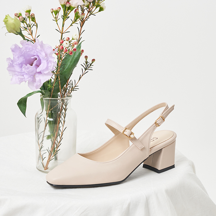 SPUR[스퍼]PS9018 Maryjanes sling back 베이지