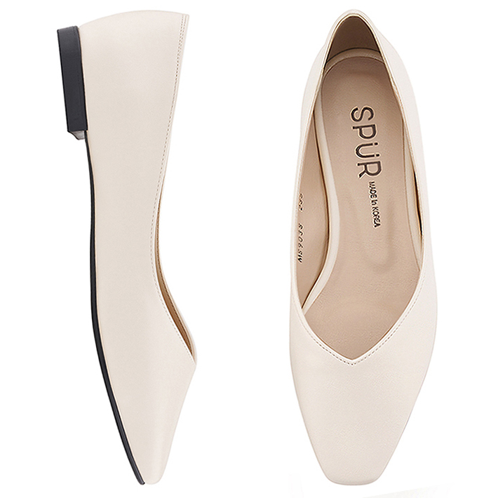 SPUR[스퍼]MS9038 Slim square flat 아이보리