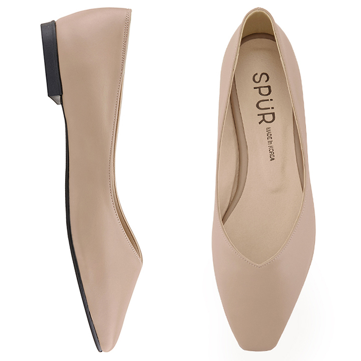 SPUR[스퍼]MS9038 Slim square flat 베이지