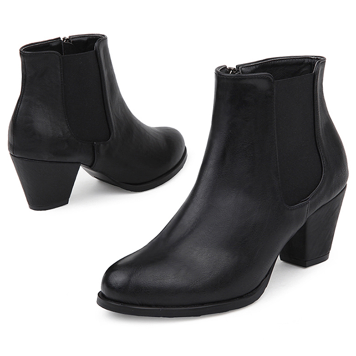 SPUR[스퍼][당일출고]FF9093 Classy chelsea boots 블랙