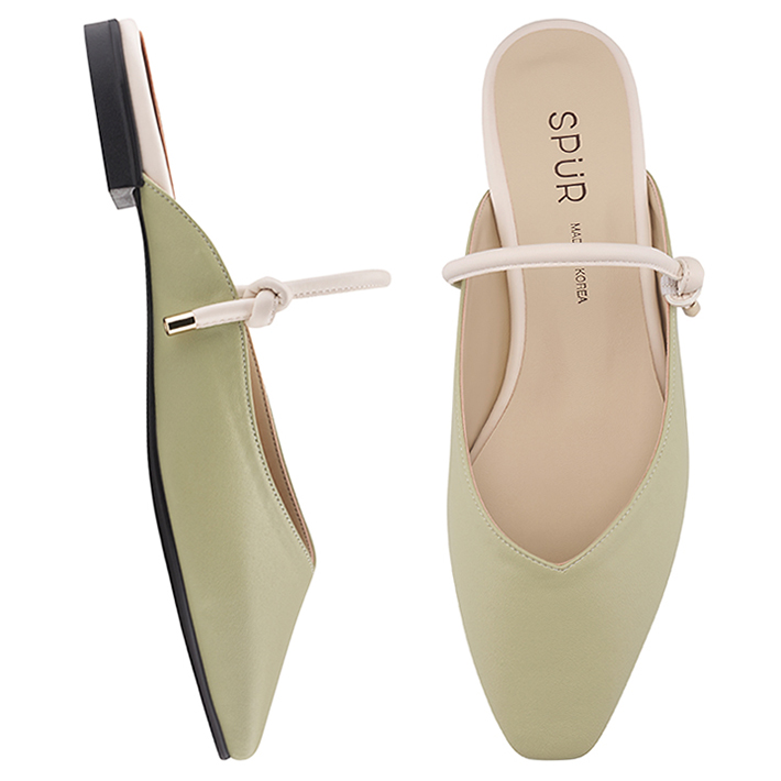 SPUR[스퍼]PS9030 String maryjanes bloafer 민트