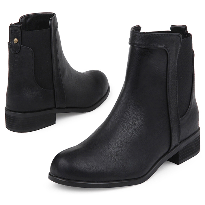 SPUR[스퍼][당일출고]FF9094 Urbanity chelsea boots 블랙